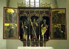 Hauptaltar in der Kirche St. Wolfgang