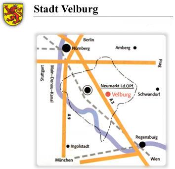 Verkehrsanbindung der Stadt Velburg